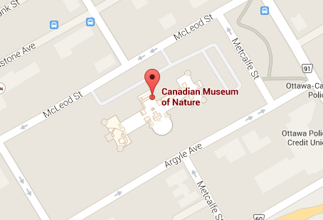 Google Map - Museum of Nature